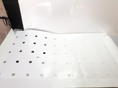 Plastico Branco Refletor Dos Leds Tv Aoc Le43d1452 Original*