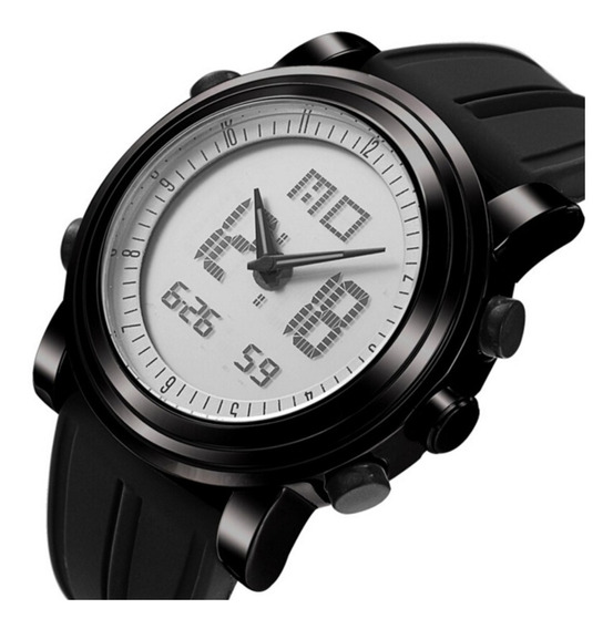 Relógio Sinobi 9368 Esportivo Digital Led À Prova D