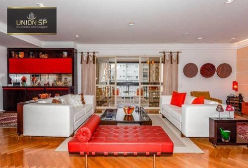 Imagem 1 de 14 de Apartamento Com 3 Suítes À Venda, 208 M² Por R$ 5.980.000 - Itaim Bibi - São Paulo/sp - Ap51191