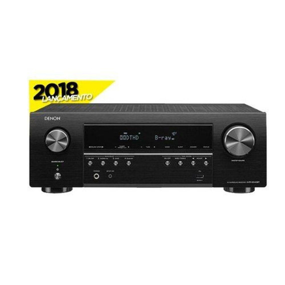 Receiver Denon Avr S 540 Bt 5.2 4k Bluetooth Original Garant