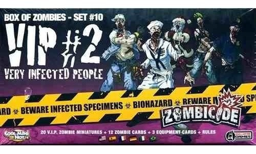 Zombicide Expansão - Very Infected People - Vip 2 - Set #10