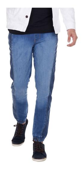 Joggers Hombre Pantalón De Mezclilla Slim Fit. Estilo 3256