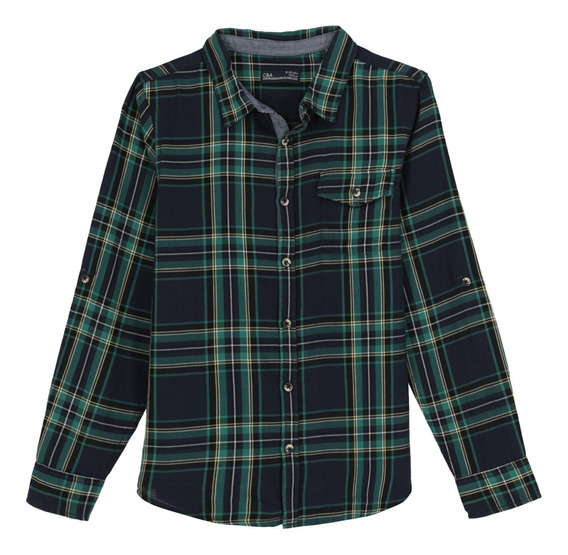Camisa Manga Larga De Niño (mod 1059931)