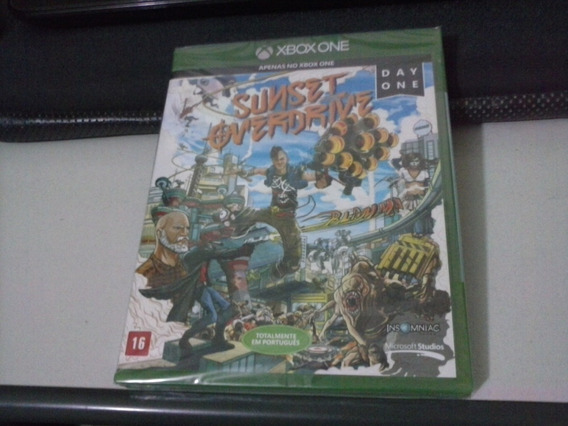 Xbox One - Sunset Overdrive - Day One - Lacrado - Frete 6,00