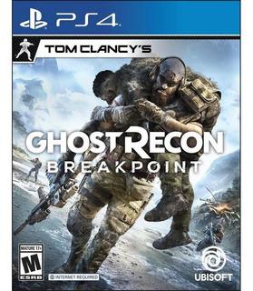 Ghost Recon Breakpoint Ps4 - Físico, Sellado, Entrega Ya!
