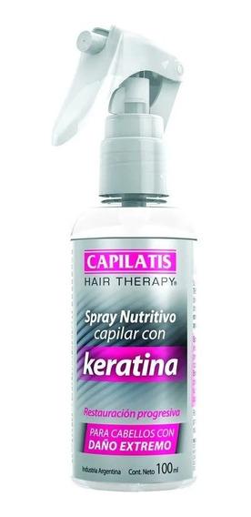 Capilatis Spray Nutritivo Capilar Reparacion Keratina 100 Ml