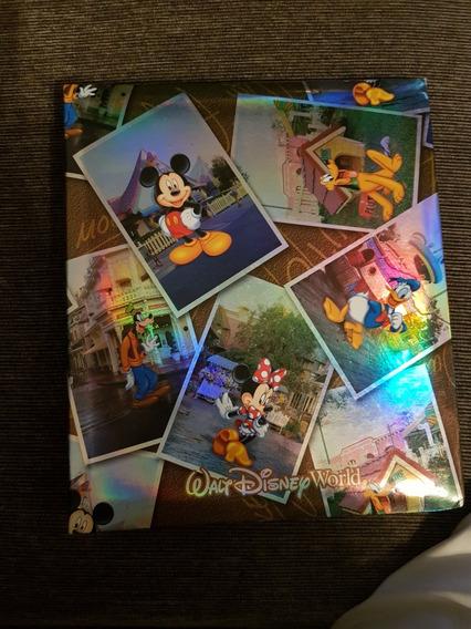 Album Para Sua Fotos Da Viagem A Disney - Prod Dos Parques.