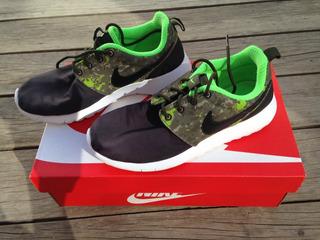 Tenis Nike Camuflaje Verde