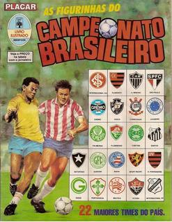 Álbum De Figurinha Digitalizado Campeonato Brasilerio 1989