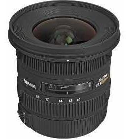 Lente Sigma 10-20mm F3.5 Ex Dc Hsm Para Canon