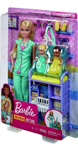 embarazada insertar cráneo  Barbie Doctora Pediatra Gemelos Bebés Original, Envío Gratis | Mercado Libre
