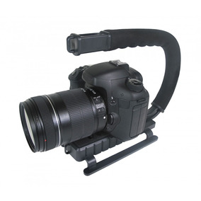 Grip E Estabilizador De Mão P/filmar Vivitar Vivvpt200 Preta