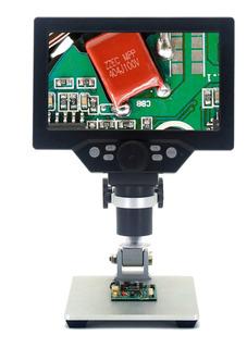 G1200 - Microscopio Digital (7 Pulgadas, Gran Pantalla A Col