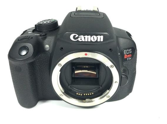 Peças Câmera Canon T5i Nova Acidentada Na Loja Consulte!