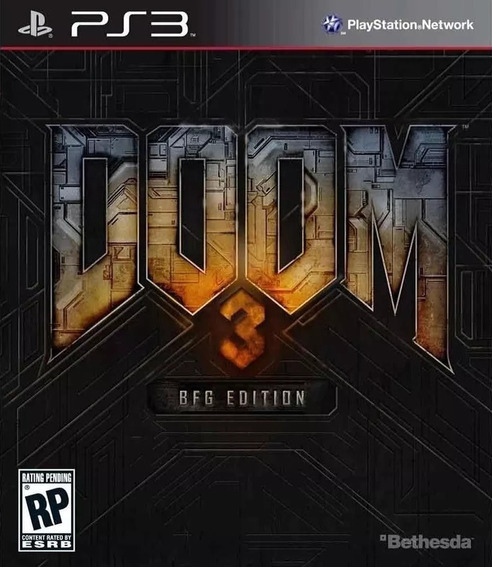 Doom 3 Bfg Edition (3 Jogos) Playstation 3 Jogos Ps3