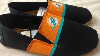 Nfl Miami Dolphins Zapatos De Hombre