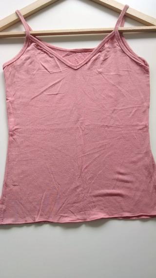 Musculosa Básica Rosa 50 Cms Largo X 35 Cms Ancho