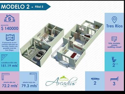 Casa Nueva En Condominio Nuevo