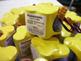 Lote 3 X Bateria Panasonic Cnc Fanuc Br-2/3agct4a Original