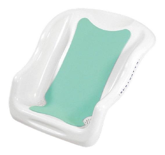 Assento P/ Banheira Bebe Plastica Branco Burigotto