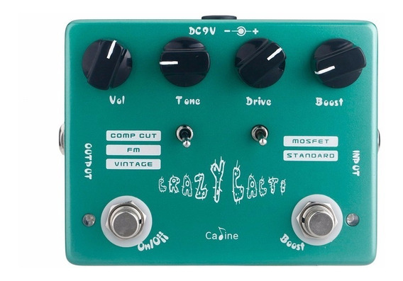 Pedal Crazy Cacti Caline Cp-20 Overdrive