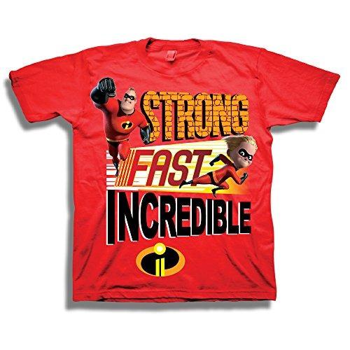 Disney Pixar The Incredibles Shirt - Camiseta Para Ninos Inc