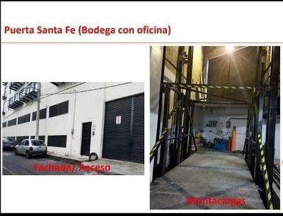 Renta De Oficina Y Bodega Cerca De Santa Fe