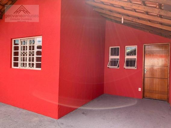 Casa Com 2 Dormitórios Para Alugar, 70 M² Por R$ 1.100,00/mês - Jardim São Lourenço - Limeira/sp - Ca0304