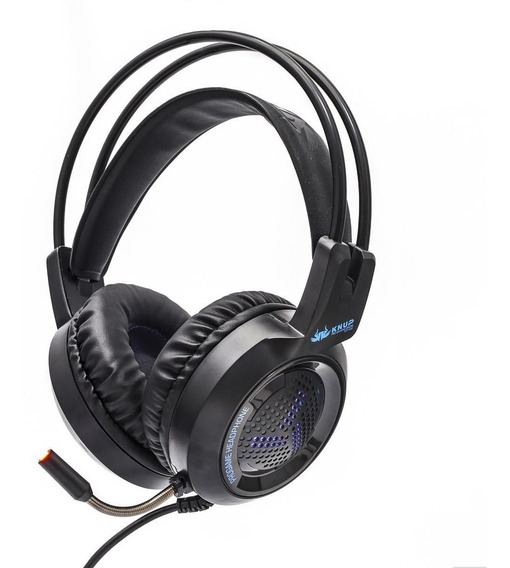 Headset Gamer P2 Microfone Cabo Reforçado Kp430 Barato