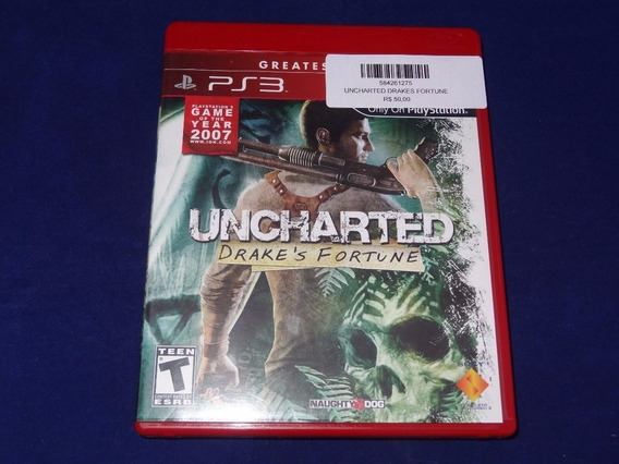 Jogo Ps3 - Uncharted Drakes Fortune