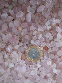 Quartzo Rosa 1kg Cascalho Miúdo Artesanato Orgonite