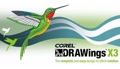 Corel Drawings X3 Pro - Programa Para Bordado