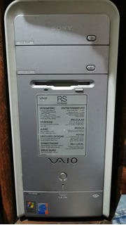 Computadora Sony Vaio Pcv-rs40mv