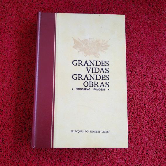Livro Grandes Vidas Grandes Obras Biografias Famosas Zero