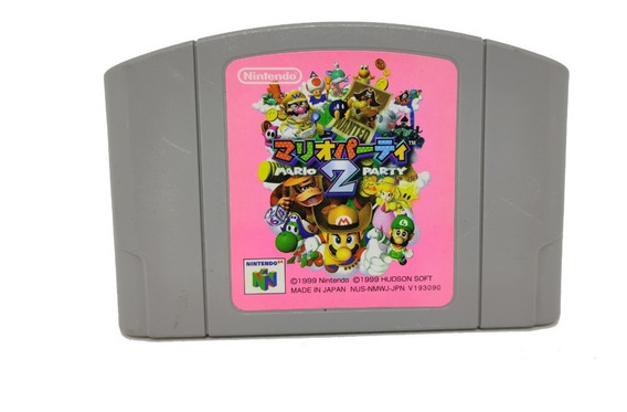 Fita Mario Party 2 Original Japonesa Nintendo 64