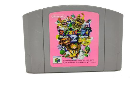 Fita Mario Party 2 Original Japonesa Nintendo 64