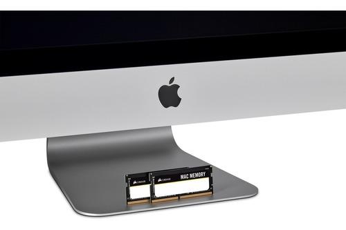 Memoria P/ Notebook Ddr4 16gb 2666 Kit 2x8 Mac Corsair