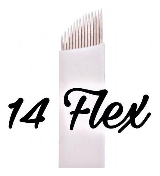 10 Agujas Microblading Filo 14