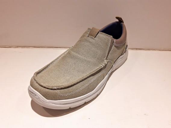 Zapatos Cavatini 70-5141 Lona Hombre Cómodos Y Livianos