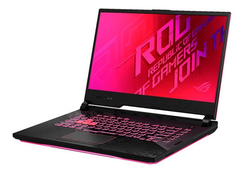 Notebook Asus Rog G512 I7 10°gen 512ssd Gtx 1650ti 4gb Win10