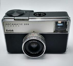 Maquina Câmera Fotográfica Instamatic 233 Kodak Rara + Case