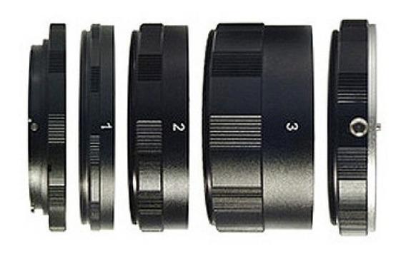 Tubo Extensor Para Macro Fotografia Canon Eos 60d 70d 5d T5i