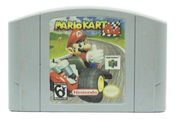 Mario Kart 64 N64 Mídia Física Pronta Entrega