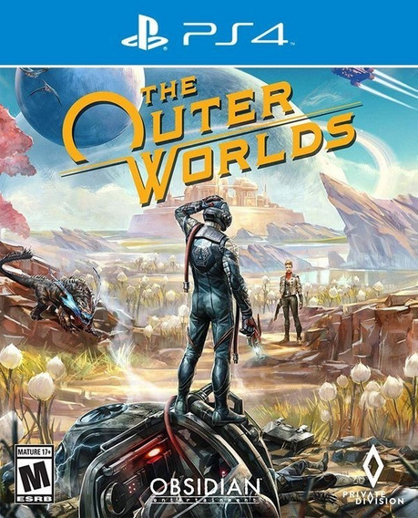 The Outer Worlds Mídia Física Ps4 Pt-br Lacrado