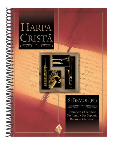 Harpa Cristã Com Música Si Bemol (bb) - Cpad
