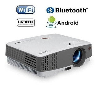 Portable Lcd Hd Proyector Bluetooth Soporte 1080p Hdmi Andro