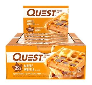 Quest Bars Maple Waffle Lançamento Usa