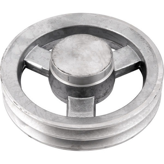 Polia De Alumínio 2 Canais A 170 Mm Vonder ( 2 Unidades )