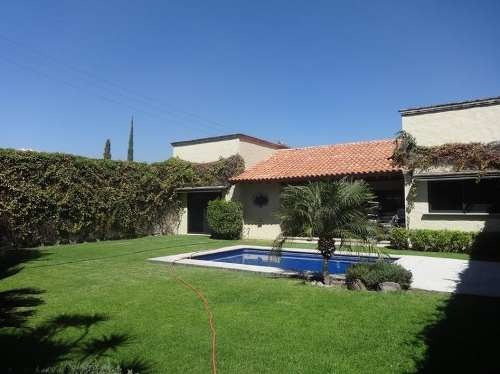 Hermosa Casa En Un Solo Nivel,jiutepec Morelos