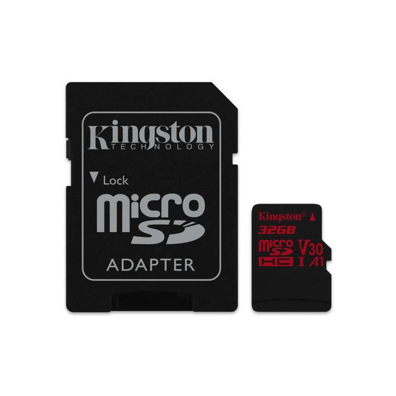 Cartão Kingston Micro Sdhc 32gb 100mb/s Uhs-i C10 U3 V30